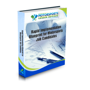 Motorsports Rapid Implementation Blueprint for Motorsports Job Candidates