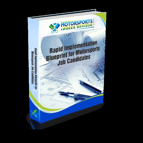 Motorsports Rapid Implementation Blueprint for Motorsports Job Candidates