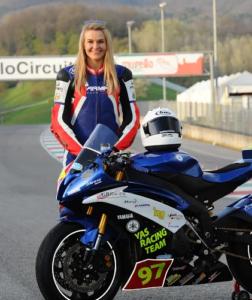 Ieva Baublyte Motorcyle Racing